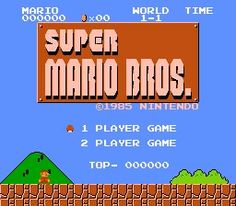Super Mario Bros (Nintendo Family Computer)  - I could never finish this game. T_T