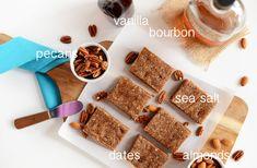 Boozy Pecan Pie Bars with Sea Salt   Minimalist Baker Recipes
