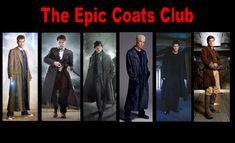 The Doctor, Captain Jack, Sherlock, Spike, Angel, Captain Reynolds.