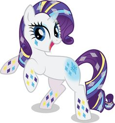 Rainbow Power Rarity by benybing.deviantart.com on @deviantART