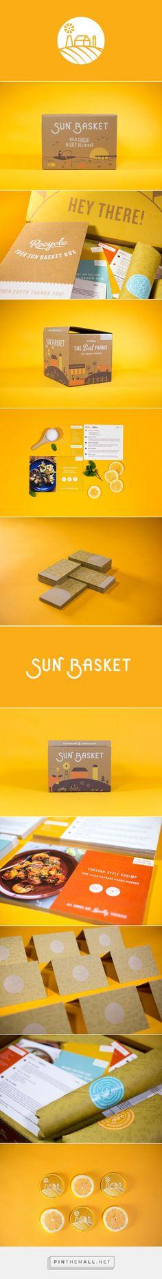 Sun Basket — The Dieline - Branding & Packaging - created via https://pinthemall.net