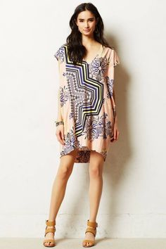 Anthropologie  Waverly Cocoon Tunic