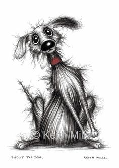 Biscuit the dog Print download by KeithMills on Etsy, £3.00