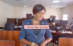 Nollywood News: Here's a picture of Nollywood actress Chika Ike, reportedly on May 3rd 2013 when she filed to divorce her husband Tony Eberiri. Read more here: http://www.nigeriamovienetwork.com/articles/read-has-chika-ike-divorced-her-husband-qa_586.html
