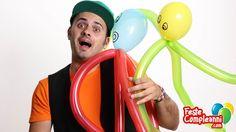 Palloncino modellabile polipo, tutorial balloon octopus with balloon art, Palloncini modellabili Polipo Gigante - Creiamo insieme con i palloncini modellabili, in questo video cominceremo ad entrare nel magico mondo sommerso e andremo alla ricerca degli 'abitanti del mare'!! non perdete il nostro tutorial per creare con tre palloncini il Polipo Gigante!!!