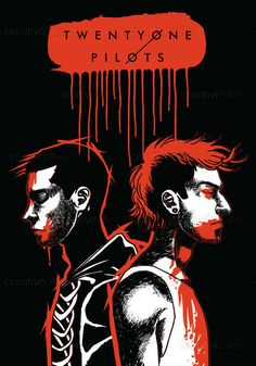 TWENTY+ONE+PILOTS+Poster+by+Ela+Raczyk+on+CreativeAllies.com