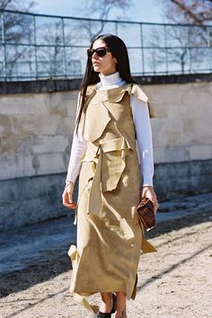 Vanessa Jackman: Paris Fashion Week AW 2015....Gilda