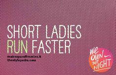Nike We Own The Night, allenatevi con noi // Short Ladies Run Faster