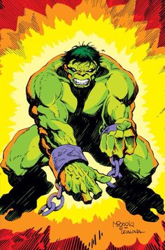 Hulk - The Incredible Hulk Hulk Marvel, Marvel Art, Marvel Heroes, Marvel Comics, Avengers Painting, Planet Hulk, Hulk Art, Hulk Smash, Man Thing Marvel
