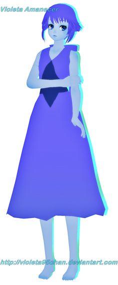 MMD - Steven Universe - Lapiz Lazuli V1 by violeta95chan