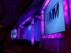 Stage Lighting, purple lighting, blue lighting