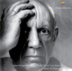 Pablo Picasso - Think Different