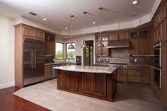 San Mateo, CA: Remodeled kitchen. Valley Home Builders