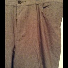 Brown dress pants Brown dress pants. Petite stretch. Hardly worn. Great condition inseam 27 in Pants