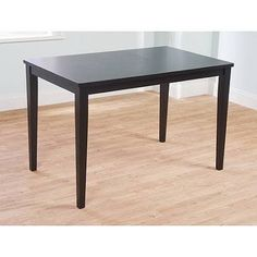 black dining table - Google Search