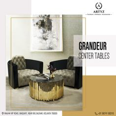 Elevate the look of your living room with awe-inspiring center tables by Artyz!  Visit our store today to explore our range of exquisite furniture pieces.  #designertables #luxuryfurniture #interiors #interiordesign #centertable #homedecor Big Bazaar, Center Table, Luxury Furniture, Furnitures, Tables, Range, Interiors, Explore, Living Room