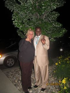 Mr Magembe in Greenville Michigan!