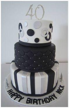 Creative 40th Birthday Cake Ideas - Crafty Morning