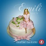 Barbie na torte