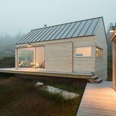 14+ Best Modern Tiny Homes - futurian Tiny Cabins, Wooden Cabins, Log Cabins, Prefab Cabins, Wooden Houses, Timber Cabin, Timber Homes, Modern Tiny House, Small Modern Home