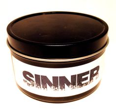 Sinner 8 oz. Candle by CattivoCandle on Etsy