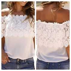 """Cold Shoulder Lace Splice Top  TO BUY: Comment with your email address, and you'll receive a secure checkout link.  Price: $29 shipped Size: S/M fits 0-8, M/L fits 10-14 Options: [SM x1 / ML x1] In stock, ready to ship  Comment #subscribe + your email address to subscribe to instant updates via email when I post new products!  #lace #blouse #lacetop #cute #shop #swag #shopping #amazing #instalook #sale #flashsale #photooftheday #instasale #picoftheday #tflers #fashion #bloggerstyle #blogger…"