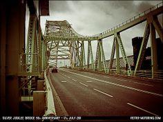 The Runcorn-Widnes Silver Jubilee Bridge