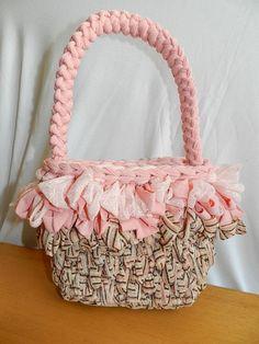 Spighetta rumena per manici (parte terza - pink bag)