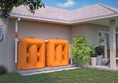 """Awesome """"rainwater harvesting architecture"""" detail is offered on our website. Check it out and you wont be sorry you did. Natural Farming, Water Collection, Rainwater Harvesting, Water Storage, Vertical, Eco Friendly House, Green Building, Water Tank, Sustainable Design"""