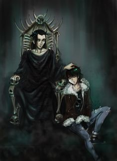 Nico & Hades OMGS amazing feels at father son love x