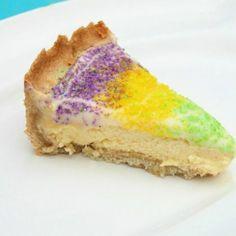 King Cake Cheesecake