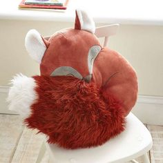 Woodland Fox Cushion | Dunelm