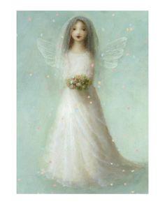 white fairy bride
