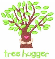 Tree Hugger by 1Z Embroidery