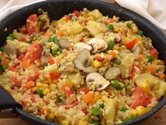 Paella, Fried Rice, Tofu, Fries, Grilling, Appetizers, Meat, Chicken, Ethnic Recipes