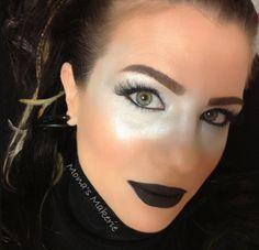 Futuristic/Robot makeup