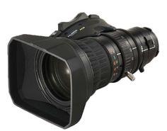 """Fujinon Obbiettivo Telephoto 2/3"""" ENG HD 20x con duplicatore, digital servo, quick zoom e inner focus. In promozione fino al 30/11/2012 Info : http://goo.gl/Io3w7j"""