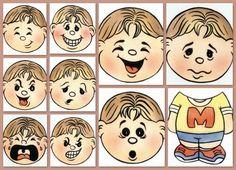 Imagenes de emociones para niños - Imagui