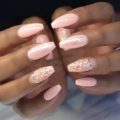 68 Best Chosen 🙀 Nails Design for Wedding and Prom (Include Acrylic Nails, Matte Nails, Stiletto Nails) - Page 3 😘💋𝙄𝙛 𝙔𝙤𝙪 𝙇𝙞𝙠𝙚, 𝙅𝙪𝙨𝙩 𝙁𝙤𝙡𝙡𝙤𝙬 𝙐𝙨 💋 💖 💖 💖 💖 💖 💖 💖 💖 😘💖Hope you like this collection Stunning Stiletto Nails, Glitter Nails, Coffin Nails, Gold Sparkle Nails, Nails Ideias, Cute Nails, Pretty Nails, Hair And Nails, My Nails