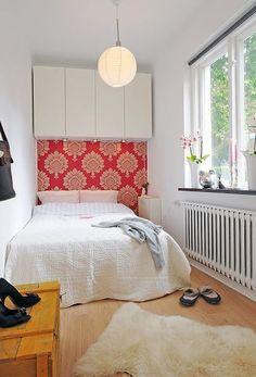 Small bedrooms - http://idea4homedecor.com/small-bedrooms/ -#home_decor_ideas #home_decor #home_ideas #home_decorating #bedroom #living_room #kitchen #bathroom #pantry_ideas #floor #furniture #vintage #shabby