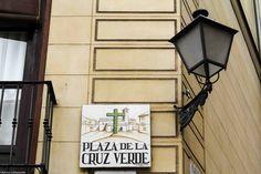 Plaza de la Cruz Verde: En La Latina.
