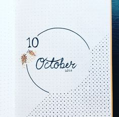 Image result for month page bullet journal