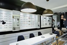 Lambacher Augenoptik by Heikaus, Pforzheim – Germany » Retail Design. Visit City Lighting Products! https://www.linkedin.com/company/city-lighting-products