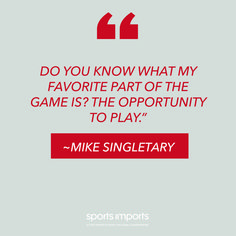 Be thankful for the opportunity to play. Outdoor Volleyball Net, Volleyball Equipment, Mike Singletary, Volleyball Motivation, My Favorite Part, Opportunity, Thankful, Play, Quotes