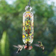 Carnival Hummingbird Feeder Tall
