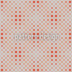 Red Diamond designed by Kerstin Nolte available on patterndesigns.com Diamond Design, Vector Pattern, Surface Design, Star, Patterns, Red, Block Prints, Stars, Pattern