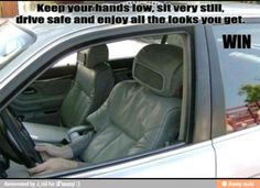 Invisible driver / iFunny :)