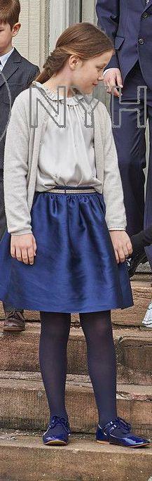 Princesse Isabella , 1er avril 2017, Confirmation du prince Felix (chapelle du palais de Fredensborg)