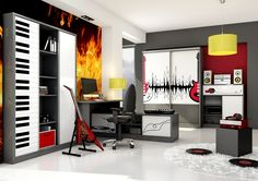 Pokój dla miłośnika muzyki - music lover room