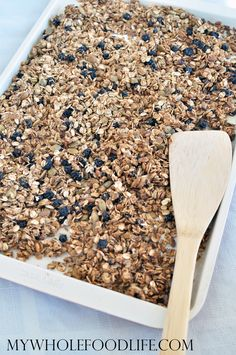 Blueberry Flax Grano